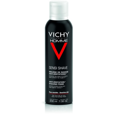 Vichy Homme Anti-Irritation Rasierschaum für empfindliche und irritierte Haut