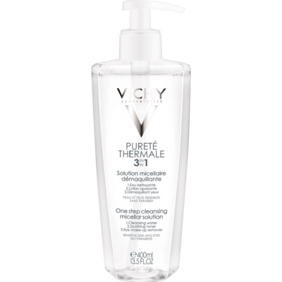 Vichy Pureté Thermale micelární čisticí voda 3 v 1