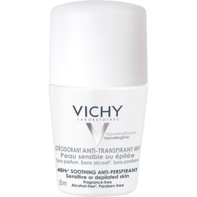 Vichy Deodorant Roll-On Deo  voor Gevoelige en Geirriteerde Huid