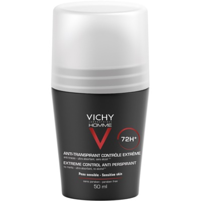 Vichy Homme Deodorant anti-transpirant roll-on  anti-transpiration excessive