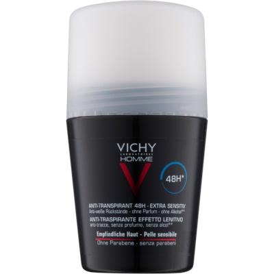 Vichy Homme Deodorant 48Hr Anti - Perspirant Deodorant, Sensitive Skin