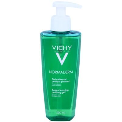 Vichy Normaderm tiefenreinigendes Gel für Haut mit kleinen Makeln