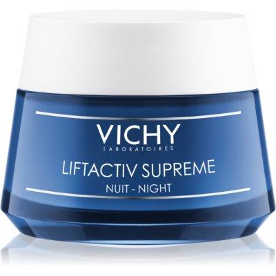 Vichy Liftactiv Supreme ujędrniająco - przeciwzmarszczkowy krem na noc z efektem liftingującym