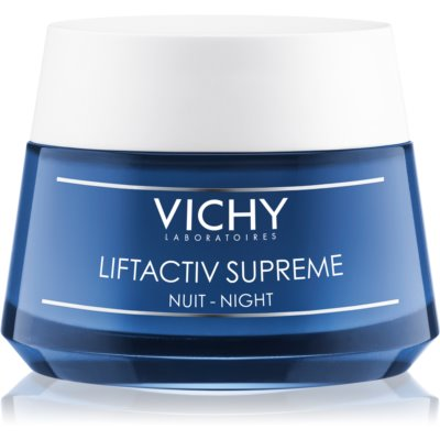 Vichy Liftactiv Supreme crema de noapte pentru fermitate si contur cu efect lifting