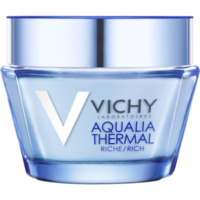 Vichy Aqualia Thermal Rich Voedende Hydraterende Dagcrème voor Droge tot Zeer Droge Huid