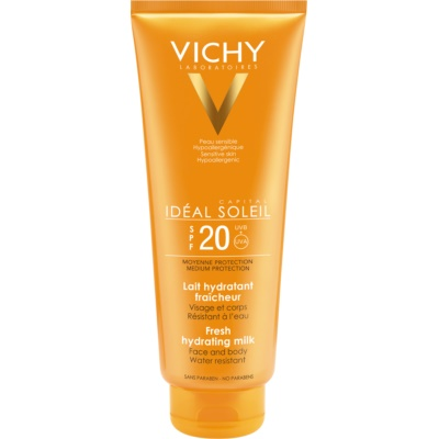 Vichy Idéal Soleil Protective Moisturising Face and Body Lotion SPF 20