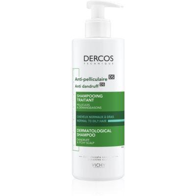 Vichy Dercos Anti-Dandruff šampon protiv peruti za normalnu i masnu kosu