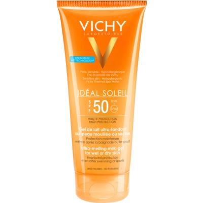 ultra talilni mlečni gel za mokro in suho kožo SPF 50