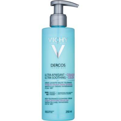 zklidňující čisticí krém pro barvené a citlivé vlasy