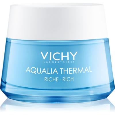Vichy Aqualia Thermal Rich поживний зволожуючий крем для сухої та дуже сухої шкіри