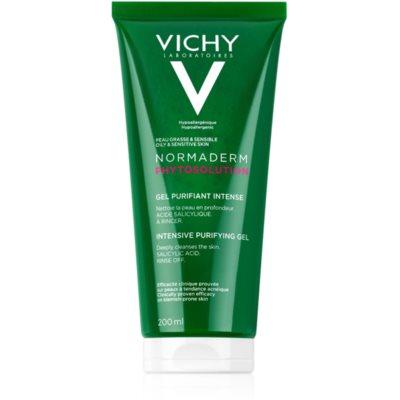 Vichy Normaderm Phytosolution gel purifiant en profondeur anti-imperfections de la peau à tendance acnéique