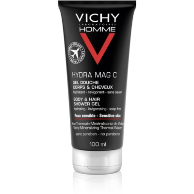 Vichy Homme Hydra-Mag C Shower Gel For Body And Hair
