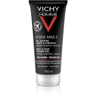 Vichy Homme Hydra-Mag C żel pod prysznic do ciała i włosów