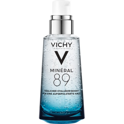 Vichy Minéral 89 serum facial hidratante e iluminador con ácido hialurónico