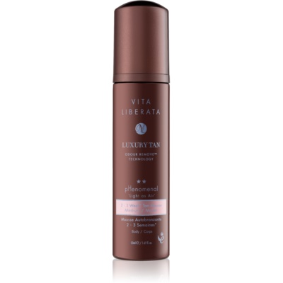 Vita Liberata Phenomenal mousse auto-bronzante avec gant applicateur