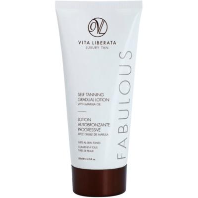Vita Liberata Fabulous неоцветен автобронзантен крем за постепенен тен
