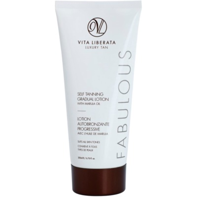 Vita Liberata Fabulous crème autobronzante transparente pour un bronzage progressif