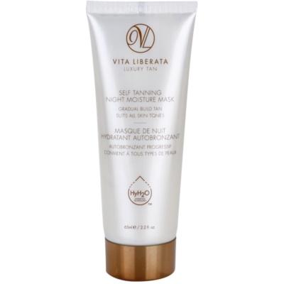 Vita Liberata Skin Care samoporjavitvena nočna vlažilna maska