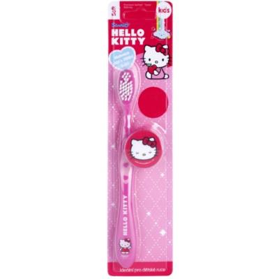 VitalCare Hello Kitty gyermek fogkefe fedővel