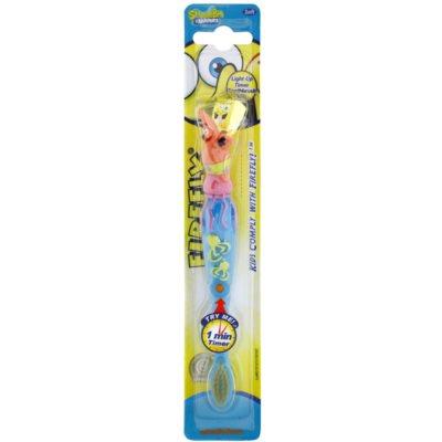 zubní kartáček pro děti s blikajícím časovačem soft