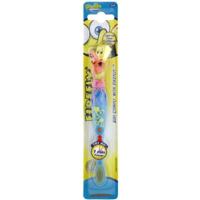 VitalCare SpongeBob brosse à dents pour enfants avec minuterie clignotante  soft