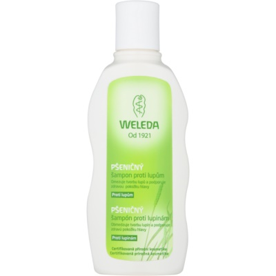 Weleda Hair Care champô de trigo anti-caspa