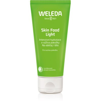 Weleda Skin Food crema hidratante ligera  para pieles secas