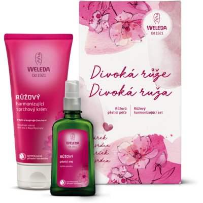 Weleda Rose kit di cosmetici I.