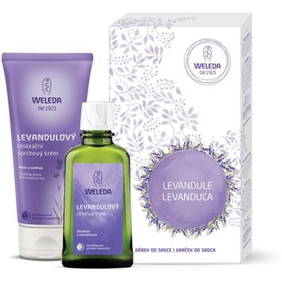 Weleda Lavender kozmetika szett X.