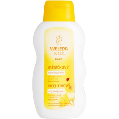 Weleda Baby and Child олійка для немовлят з екстрактом календули без ароматизатора
