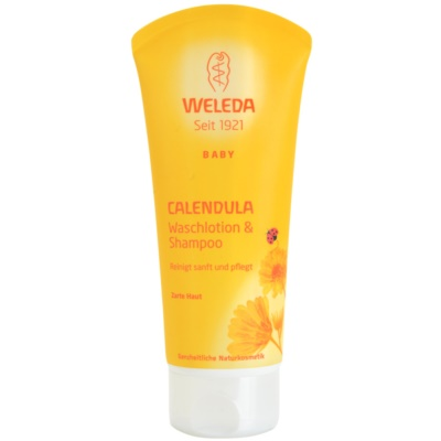 Weleda Baby and Child šampon in gel za prhanje za otroke