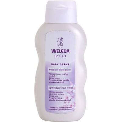 beruhigende Hautmilch für Kinder