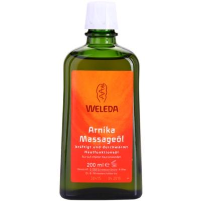 Weleda Arnica huile de massage à l'arnica