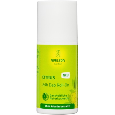 Weleda Citrus Aluminium Salts Free Deodorant Roll-On
