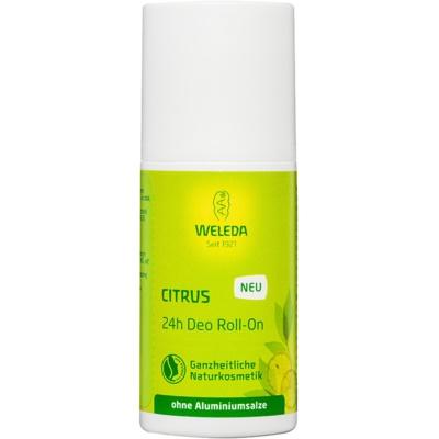 Weleda Citrus дезодорант roll-on без вмісту солей алюмінію