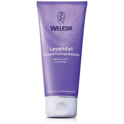 Weleda Lavendel entspannende Duschcreme