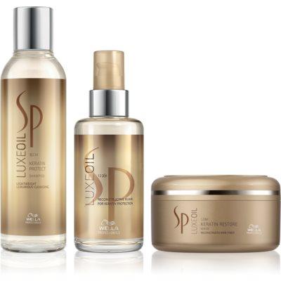 Wella Professionals SP Luxeoil kosmetická sada I. (pro poškozené vlasy) pro ženy