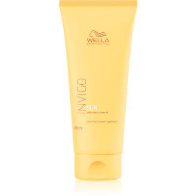 Wella Professionals Invigo Sun acondicionador hidratante  para cabello maltratado por el sol