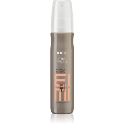 Wella Professionals Eimi Perfect Setting fixáló spray a fénylő és selymes hajért