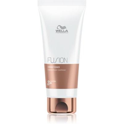 Wella Professionals Fusion après-shampoing régénération intense pour cheveux abîmés
