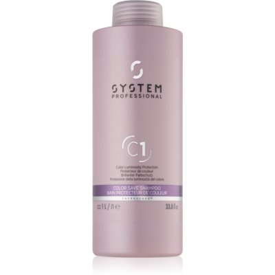 Wella Professionals System Professional  Color Save Shampoo For Colored Hair  1000 ml
