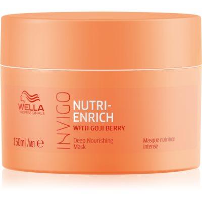 Wella Professionals Invigo Nutri - Enrich globinsko hranilna maska za lase