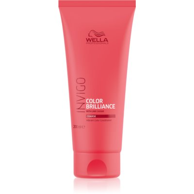 Wella Professionals Invigo Color Brilliance acondicionador para cabello teñido denso