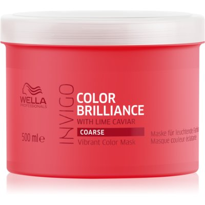 Wella Professionals Invigo Color Brilliance máscara por cabelos grossos pintados
