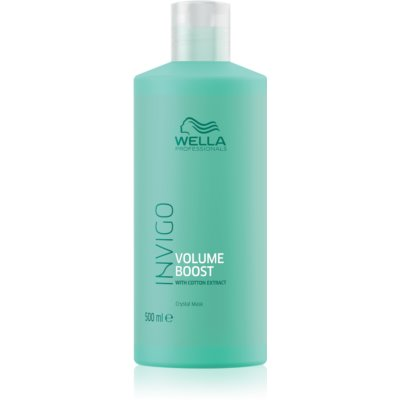 Wella Professionals Invigo Volume Boost Hair Mask with Volume Effect