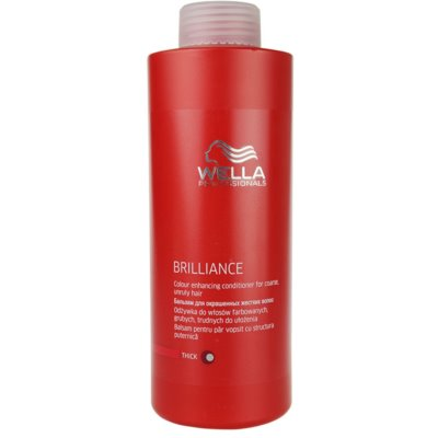 Wella Professionals Brilliance Conditioner für grobes gefärbtes Haar