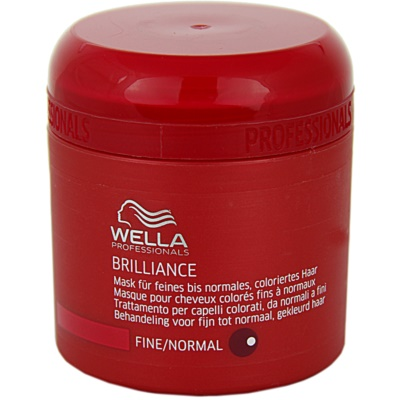 Wella Professionals Brilliance maska za tanke, barvane lase