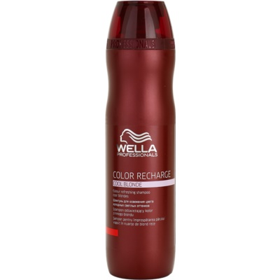 fialový šampon pro studené odstíny blond