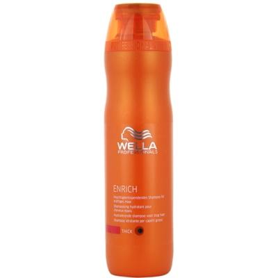 hydratační šampon pro silné, hrubé a suché vlasy