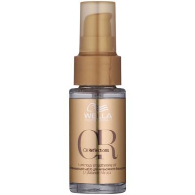 óleo alisante para cabelo brilhante e macio